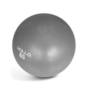 Bola Pilates Gym Ball Vollo Com Bomba 65cm