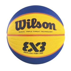 Bola Basquete Wilson Street FIBA 3X3 Amarelo