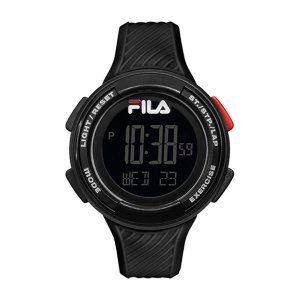 Relógio Fila Pedometro Digital Preto