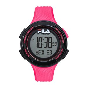 Relógio Fila Pedometro Digital Pink