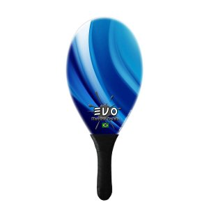 Raquete De Frescobol Evo Fibra de Vidro Blue