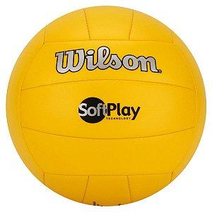 Bola Vôlei Wilson Soft Play Amarelo