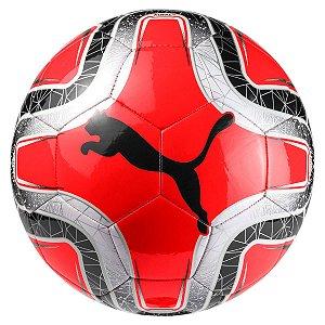 Bola De Futebol Campo Puma Final 6 MS Trainer Vermelho