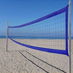 Rede Vôlei de Praia Profissional  8,50 m  4 Faixas