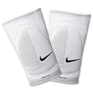 Joelheira Volei Nike Fit Dry Skinny Branco