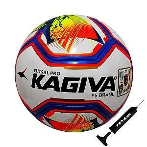 Bola Futsal Kagiva F5 Pro Com Bomba