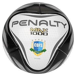 Bola Futsal Penalty Max 1000 Pró Preto