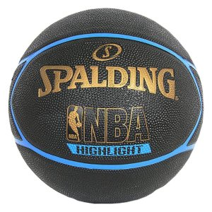 Bola Basquete Spalding NBA Highlight Outdoor Azul