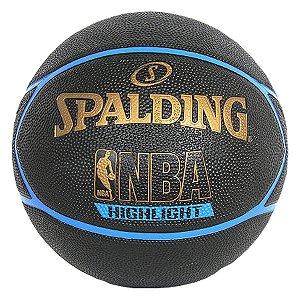 Bola Basquete Spalding NBA Highlight Outdoor Azul