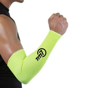 Protetor De Antebraço Longo Para Voleibol BRAC7 Amarelo