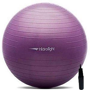 Bola De Exercícios Pilates Hidrolight Com Bomba 45cm