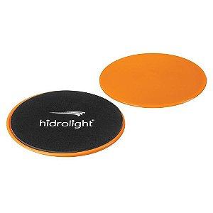 Discos Exercícios Deslizantes Fitness Hidrolight