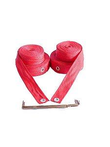 Marcação para Volei De Praia 4 cm - Vermelho