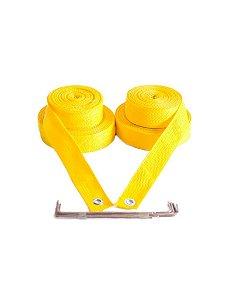 Marcação para Volei De Praia 4 cm - Amarelo