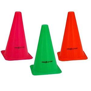 Kit de 8 Cones Agilidade 23,5 cm Proaction