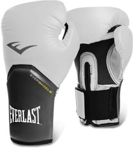 Luva de Boxe Everlast Pro Style Elite 12 OZ Branca