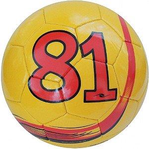 Bola Futebol Society Dalponte Since 81 Amarelo