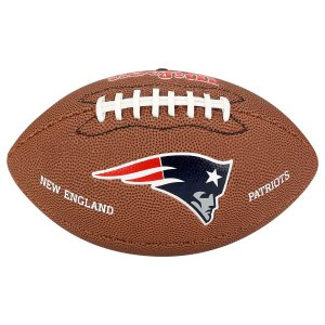 Bola Futebol Americano Wilson New England Patriots JR