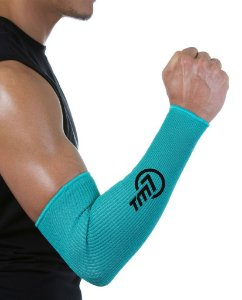 Protetor De Antebraço Longo Para Voleibol BRAC7 Verde