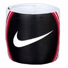 Faixa De Capitão Nike Capitão Armband T90 Branco Preto