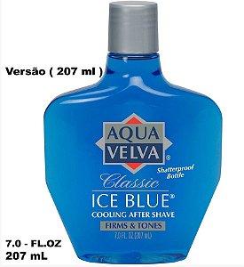 Aqua Velva - Loção Pós Barba - ICE BLUE CLASSIC - 207 ML
