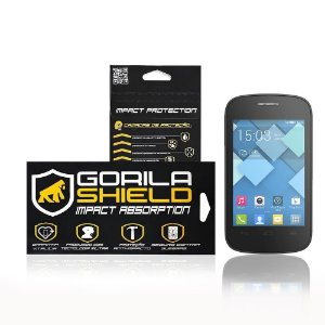 Película de vidro para Alcatel Pop C1 - Gorila Shield