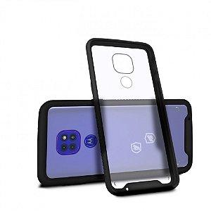 Capa Stronger Preta para Motorola Moto G9 Play - Gshield