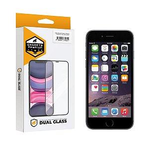 Película Dual Glass para iPhone 6 Plus - Preto - Gshield
