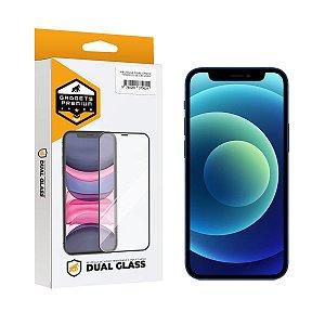 Película Dual Glass para iPhone 12 Mini - Preto - Gshield
