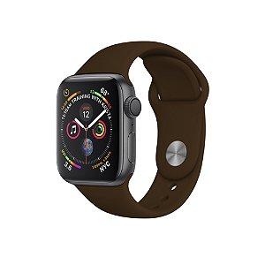 Pulseira Para Apple Watch 42mm / 44mm Ultra Fit - Marrom Cafe - Gshield