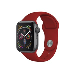 Pulseira Para Apple Watch 42mm / 44mm Ultra Fit - Vermelho Escuro - Gshield