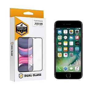 Película Dual Glass para iPhone 8 - Preto - Gshield