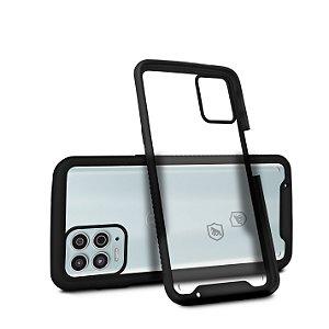 Capa Stronger Preta para Motorola Moto G100 - Gshield