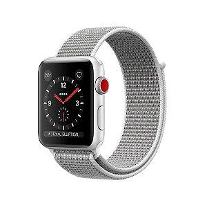 Pulseira Para Apple Watch 42mm /44mm Ballistic - Branco - Gshield