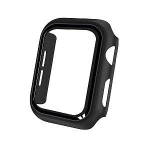Case Armor Para Apple Watch 44MM - acompanha película integrada na case - Preta - Gshield