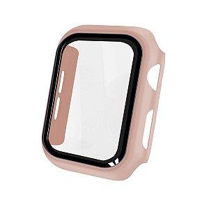 Case Armor Para Apple Watch 42MM - acompanha película integrada na case - Rosa - Gshield
