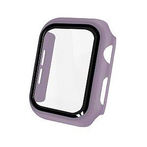 Case Armor Para Apple Watch 42MM - acompanha película integrada na case - Lilas - Gshield