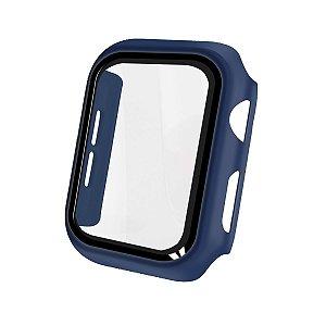 Case Armor para Apple Watch 42MM - acompanha película integrada na case - Azul Navy - Gshield