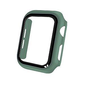 Case Armor Para Apple Watch 38MM - acompanha película integrada na case - Verde - Gshield