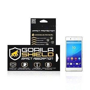 Película de vidro frontal e traseira para Sony Xperia Z3 plus + - Gorila Shield