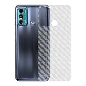 Película Traseira de Fibra de Carbono para Motorola Moto G60 - Gshield