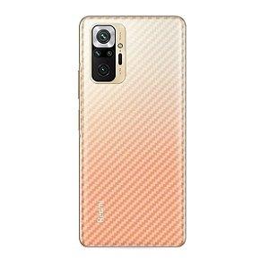 Película Traseira de Fibra de Carbono para Xiaomi Redmi Note 10 Pro - Gshield