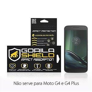 PELICULA DE VIDRO FRONTAL PARA MOTOROLA MOTO G4 PLAY - GORILA SHIELD