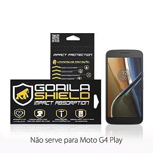 PELICULA DE VIDRO FRONTAL PARA MOTOROLA MOTO G4 - GORILA SHIELD