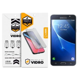 Kit Capa Armor e Película de Vidro Dupla para Samsung Galaxy J7 Metal - Gshield