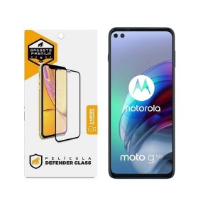 Película Defender Glass para Motorola Moto G100 - Preta - Gshield
