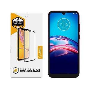 Película Defender Glass para Motorola Moto E6s / E6i - Preta - Gshield