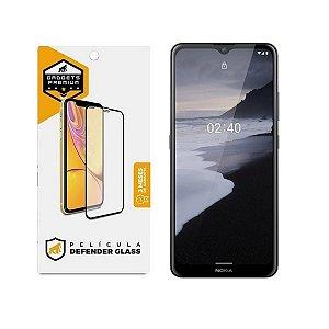 Película Defender Glass para Nokia 2.4 - Preta - Gshield