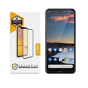 Película Defender Glass para Nokia 5.3 - Preta - Gshield