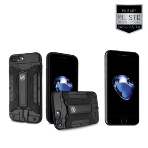 Kit Capa Guardian e Película de Vidro para Apple iPhone 7 Plus - Gorila Shield